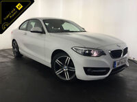 2014 BMW 218D SPORT COUPE DIESEL 1 OWNER SERVICE HISTORY FINANCE PX WELCOME
