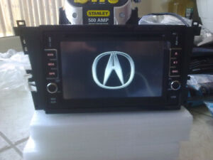acura tl and cl hd touchscreen gps bluetooth radio dvd audio
