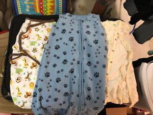 Baby swaddle and sleep sack