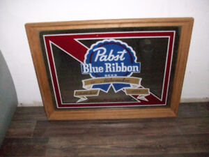 Pabst Blue Ribbon Beer picture mirror