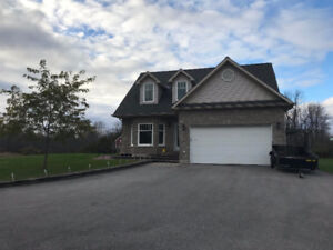 Private Executive Home with Acreage $2300 +utilities