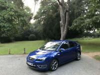 2007/07 Ford Focus 2.5 ST-3 225 5 Door Hatchback Blue(FINANCE AVAILABLE)