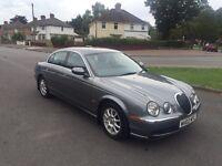 2002 Jaguar S type v6 Auto 2.5 only 86000 miles 2 keys service history