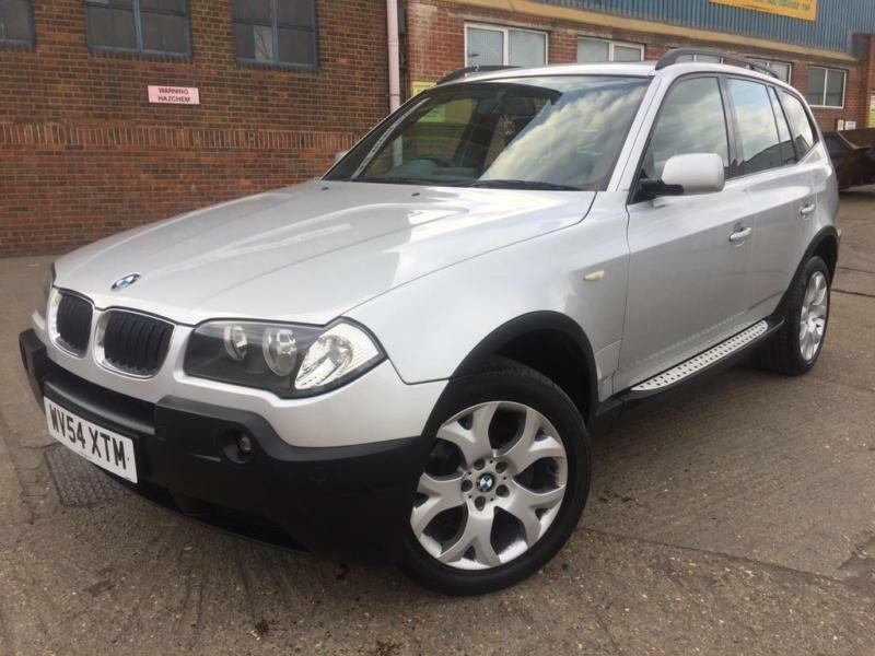 bmw x3 auto 2004 sport petrol 4x4 silver 137k fsh. Black Bedroom Furniture Sets. Home Design Ideas