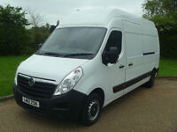 2012 12 VAUXHALL MOVANO 2.3DCI LWB EXTRA HIGH ROOF RARE VAN EURO 5 MUST SEE
