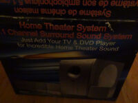 1-Channel Home Theater surround sound