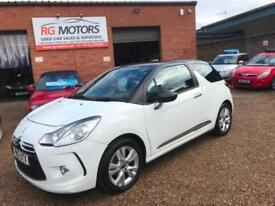 2013 Citroen DS3 1.6e-HDi ( 90bhp ) Airdream DStyle White, **ANY PX WELCOME**