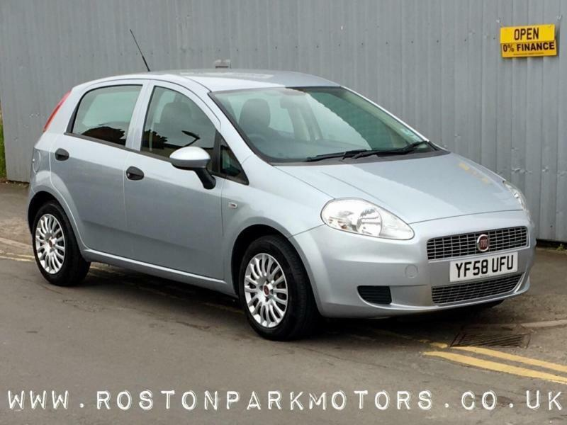 2008 FIAT GRANDE PUNTO 1.3 Multijet Active 5dr interest free finance available