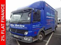 2009 Mercedes-Benz Atego 815 DAY, FULLY EQUIPPED MOBILE SHOP Diesel blue Manual