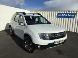 2016 Dacia Duster 1.5 dCi 110 Laureate 5dr 4X4 5 door Hatchback