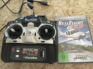 Remote control Airplane/helicopter flight simulator