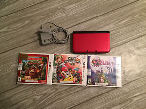 Like New Nintendo 3DS XL w/ 4 Games