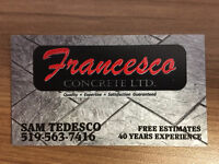 Experienced Concrete Worker & General Handyman - No Emails