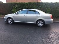 2006 TOYOTA AVENSIS D4d TAXI PSV MARCH 17 ONE OWNER FROM NEW