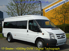 2011/ 11 Ford Transit 115 T430E 17 Seat Minibus [ M2 ] Medium roof Twin Wheel