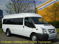 2011/ 11 Ford Transit 115ps T430 17-seats Minibus [ M2 ] Jumbo M/Roof RWD