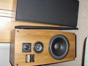 REALISTIC RECEIVER WITH LARGE SPEAKERS