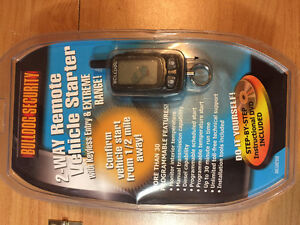 New Bulldog 500 Deluxe 2 Way LCD Remote Starter W/ Keyless Entry
