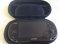 Sony PS Vita Console (Wi-Fi ) (PlayStation Vita) - EXCELLENT CONDITION + GAMES £110