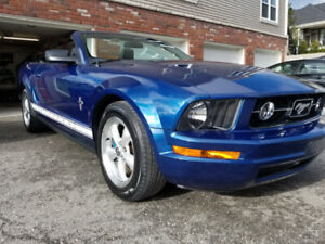 Mustang 2007 convertible PONY Package son V8!