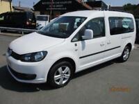 VW Caddy Maxi C20 LIFE TDI Diesel MPV WAV Only 14K Miles