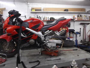 Experienced Service For All Honda Sport Bikes.
