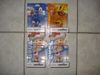 Sonic,Pac-Man and Toad Amiibos!