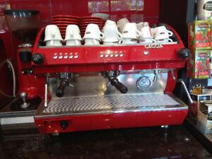 Saeco Aroma SE 200 Espresso/Cafe Machine + Grinder