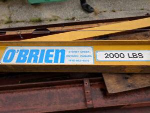 O'Brien 2000lb Jib Crane