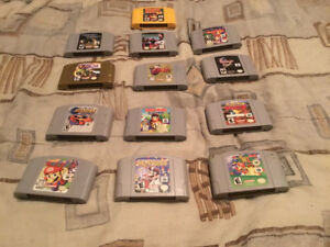 Nintendo 64 games for sale