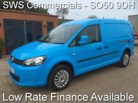 2011 (11) VOLKSWAGEN VW CADDY MAXI 1.6 TDI LWB EX GAS BLUE - 1 OWNER - NICE VAN