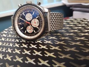 Chrono-Matic 49 Chronograph Men's Watch With Warranty Card