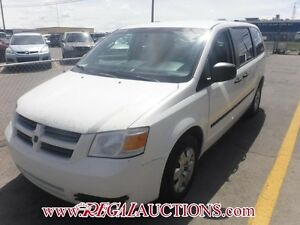 2009 DODGE GRAND CARAVAN BASE CARGO VAN BASE