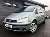 Ford Galaxy 1.9TDi ( 130ps ) Zetec **Diesel - 7 Seater - New MOT**
