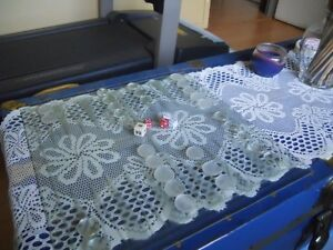 Backgammon game (Glass) West Island Greater Montréal image 1
