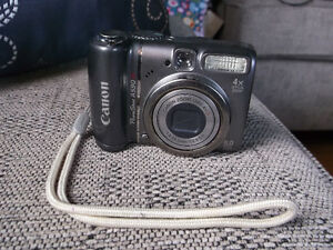 Canon Powershot A590 IS Digital Camera
