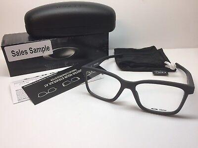 NIB Oakley Fenceline Satin Pavement Frames Rx Eyeglasses OX8069-0853 W/Case 53mm