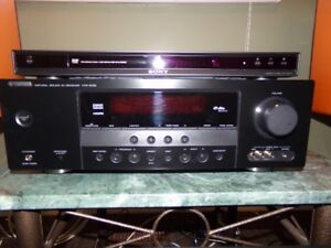 YAMAHA / VELODYNE /  SONY STEREO COMPONENTS FOR SALE