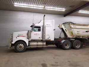 09 Western Star and 2013 End Dump
