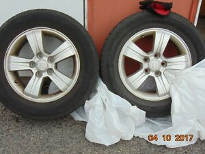 4 Alloyed wheel for Kia sportage 2009 NEW PRICE$200.00