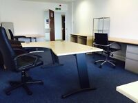 5 Workstations Office Space in Park Royal near Hanger Lane for Rent