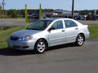 2008 TOYOTA COROLLA***SUNROOF***NEW TIRES***136000KM***