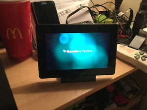 16gb Blackberry playbook with charger and case $80.00 7806907786