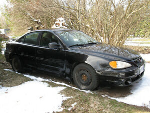 2001 Pontiac Grand Am GT Sedan