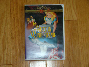 WALT DISNEY ALICE IN WONDERLAND DVD GOLD COLLECTION
