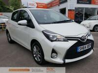 TOYOTA YARIS VVT-I ICON White Manual Petrol, 2014