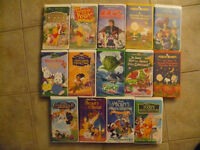 Lot of Children's VHS Videos