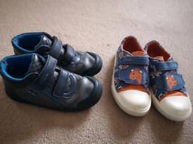 Boys Shoes Sizes 11F & 11.5F