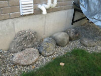 Accent decorative stones rocks for landscaping feature