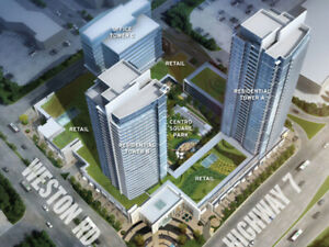 Vaughan new Condos! Move in ready! By the new subway station!